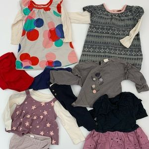 Tea Collection, Zara, Gap, Kate Spade 12/18mo girl